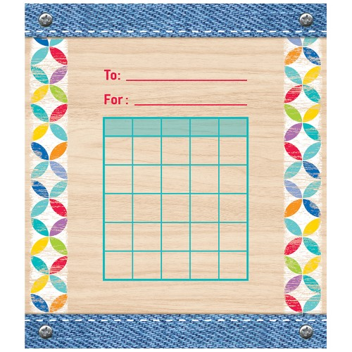 Creative Teaching Press Upcycle Style Student Incentive Chart (1405)