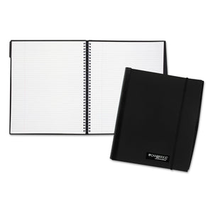 Cambridge Limited Accents Business Notebook, 11 x 8 1/4, 100 Sheets, Black (06024)