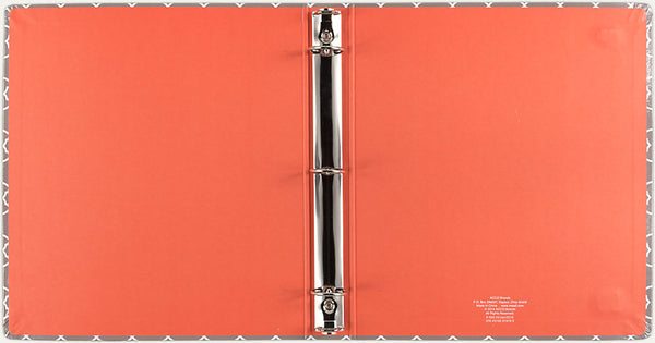 "Mead OrganizHer Large Bungee Binder, 10.5"" x 12"", Assorted Colors (31419)"