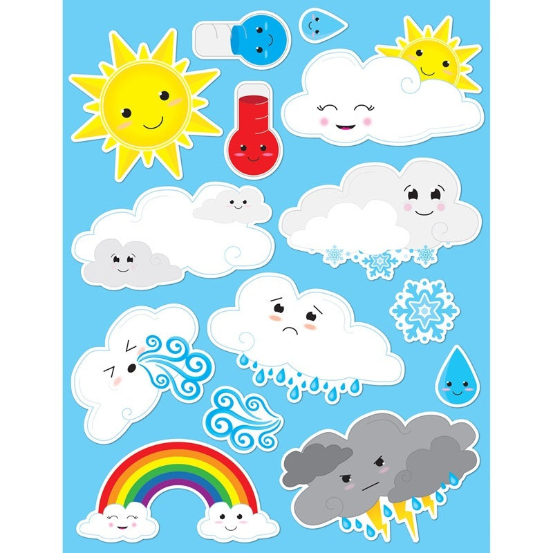 Ashley Productions® Die-cut Magnets, Cute Weather (ASH19010)