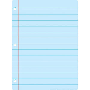 "Ashley Productions® Dry Erase Mat Blue Notebook Paper, 13"" X 9.5"" (ASH95322)"