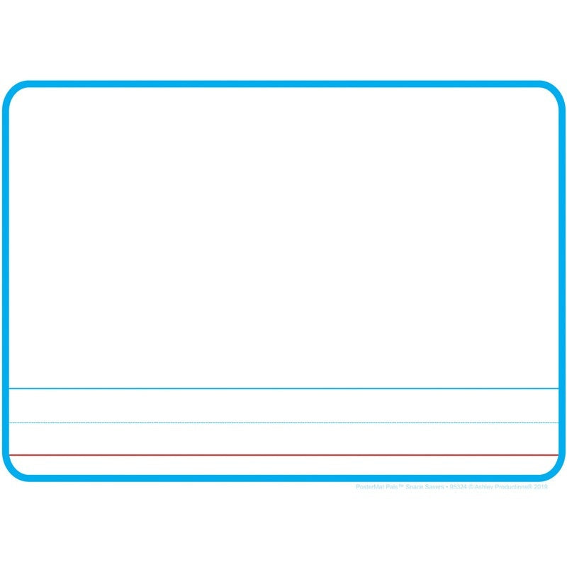 "Ashley Productions® Smart Poly® Single Sided Postermat Pals® Story Board, 13"" X 9.5"" (ASH95324)"