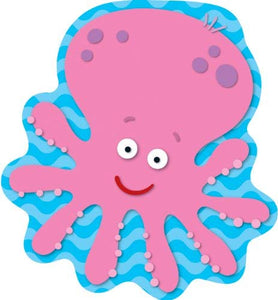 Carson Dellosa Octopus Large Notepad, 50 sheets (CD-151030)