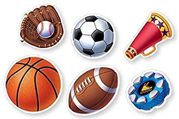 Creative Teaching Press Sports Cut-Outs, 36 Pack (CTP1837)