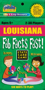 Louisiana Fab Facts Fast Card Game (Louisiana Experience)