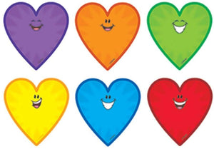 "Trend Smiling Hearts Mini Accents 3"" Variety Pack of 36 Valentine's Day (T-10802)"