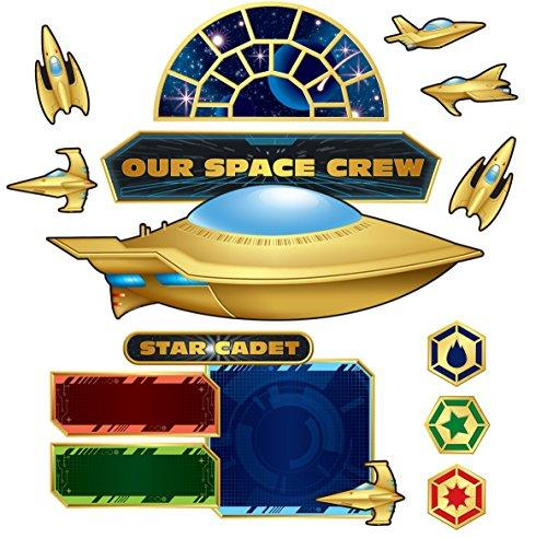 Stellar Space Bulletin Board Set