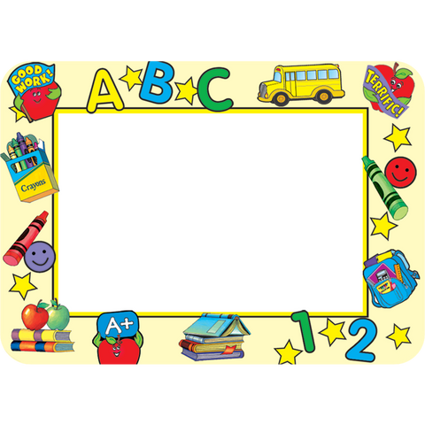 Teacher Created Primary School Tools Name Tags Labels, 36 Count (TCR 5404)