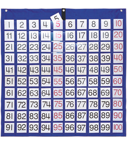 Hundreds Pocket Chart CD-5604