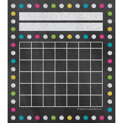 Teacher Created Dots Incentive Charts, 36 Pack (TCR 5625)