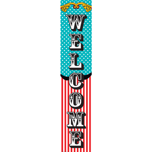"Teacher Created Carnival Welcome Banner 8"" x 39""  (TCR 5805)"