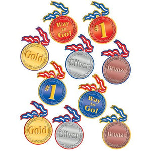 Teacher Created Resources Medals Accents, 30 Pack (TCR4882)