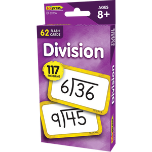 Edupress Division (Facts 0-10) Flash Cards., 62 Cards (EP62036)