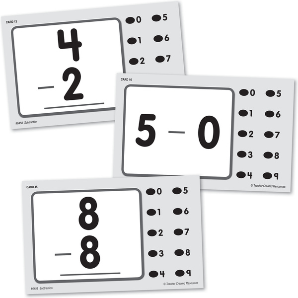 Teacher Created Power Pen Learning Cards SUBTRACTION Grades K-2  (6458)
