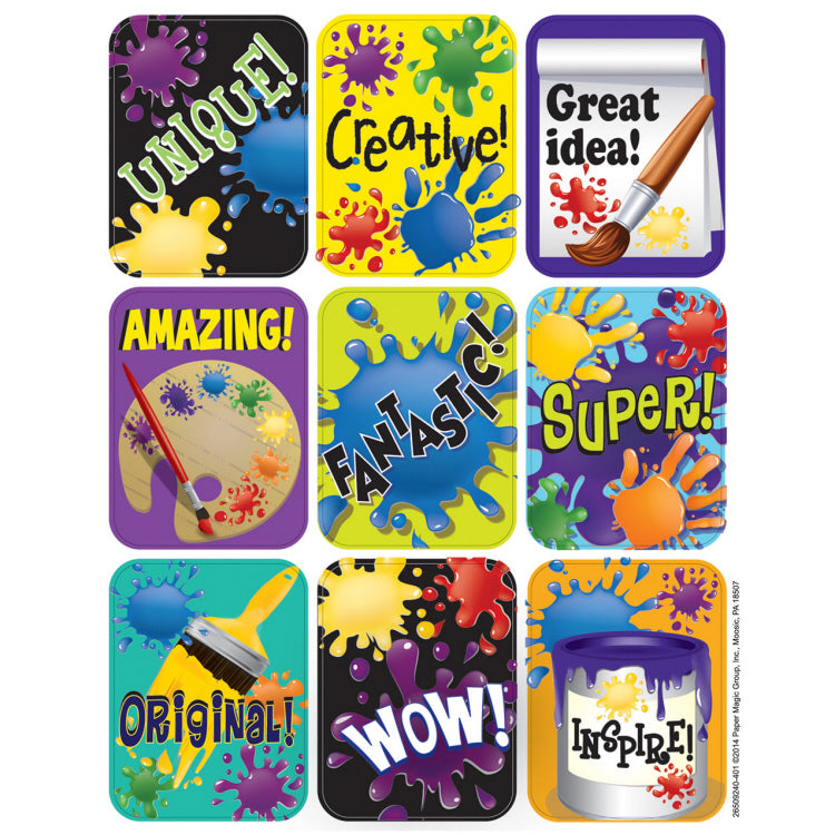 Eureka Color My World Giant Stickers (650924)