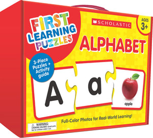 Scholastic First Learning Puzzles - ALPHABET (SC-863050)