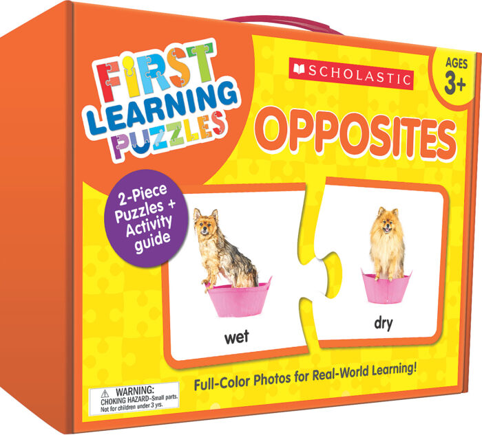 Scholastic First Learning Puzzles - OPPOSITES (SC-863055)