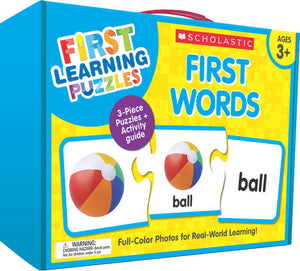 Scholastic First Learning Puzzles - FIRST WORDS (SC-863054)
