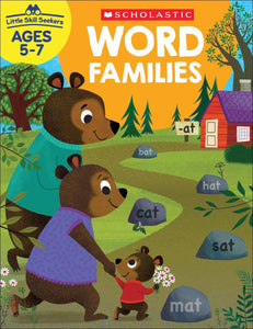 Scholastic Word Families, Little Skill Seekers Workbook Ages 5-7 (SC-830639)