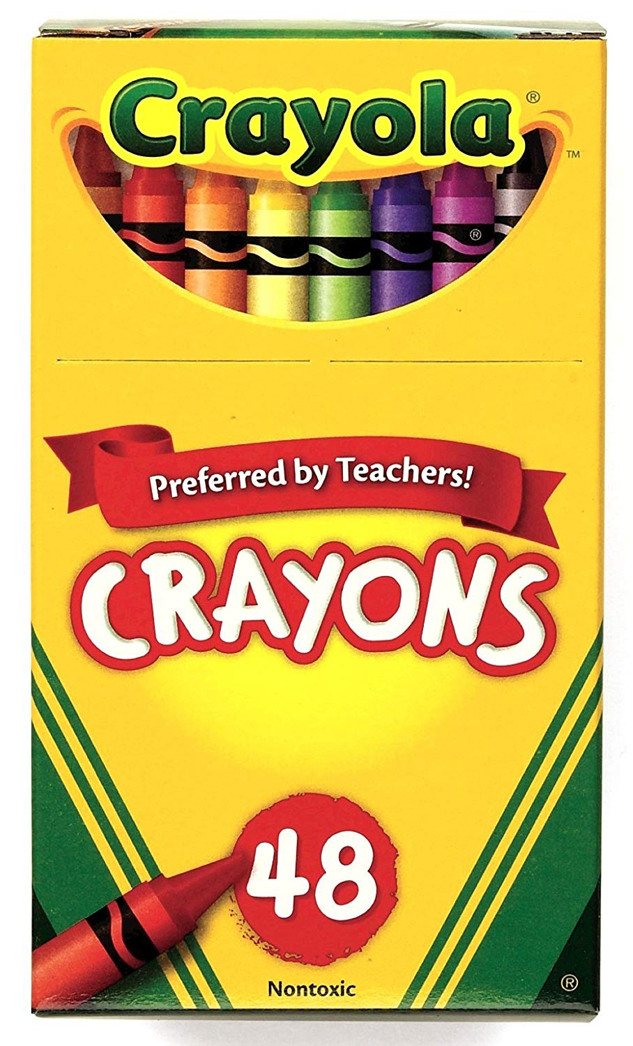 Crayola Crayons Assorted Colors, 48 Count