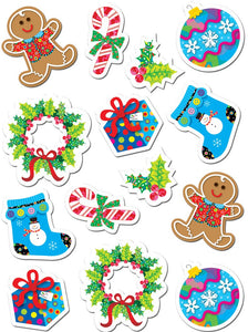 Creative Teaching Winter Holiday Christmas Acid-Free Stickers, Pack of 7 (CTP 4129 )