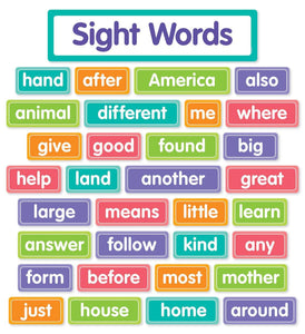 More Sight Words Bulletin Board
