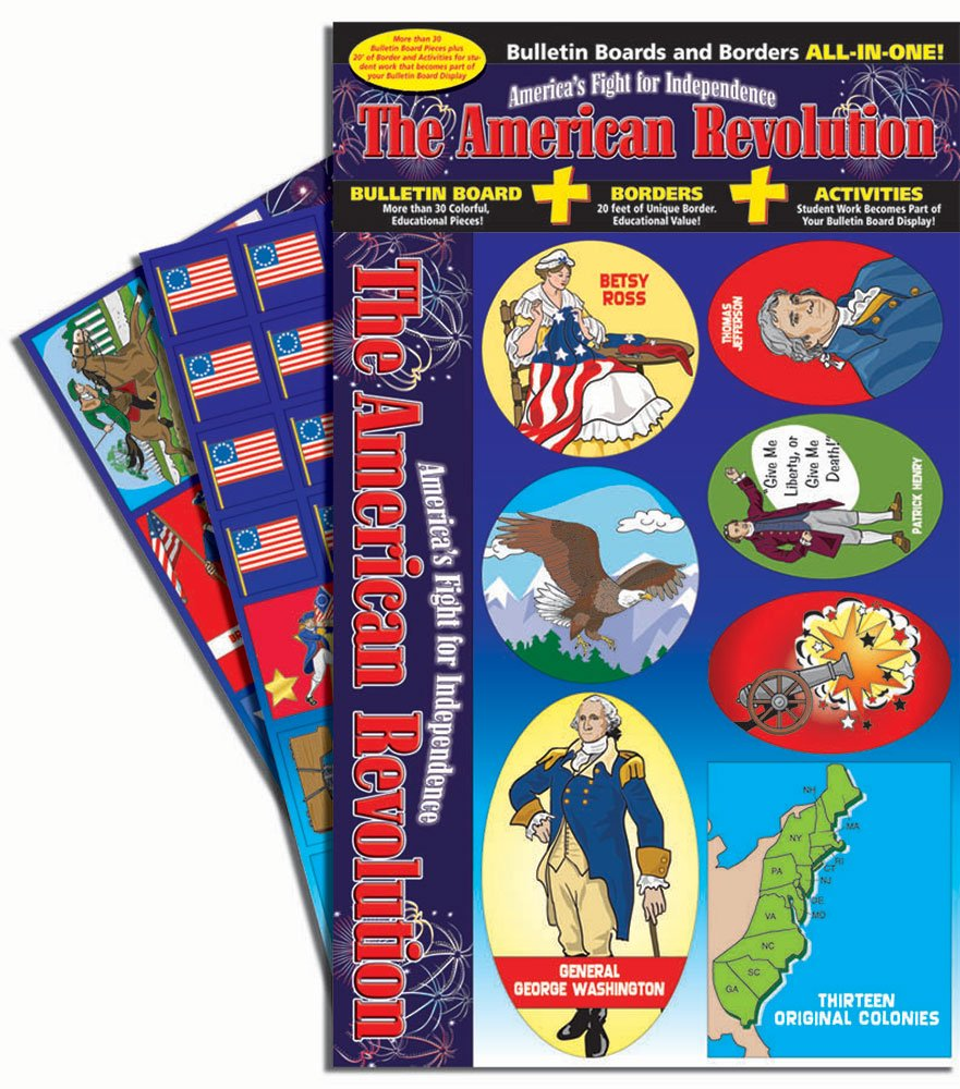 Gallopade Publishing Group The American Revolution - America's Fight for Independence Bulletin Board Set