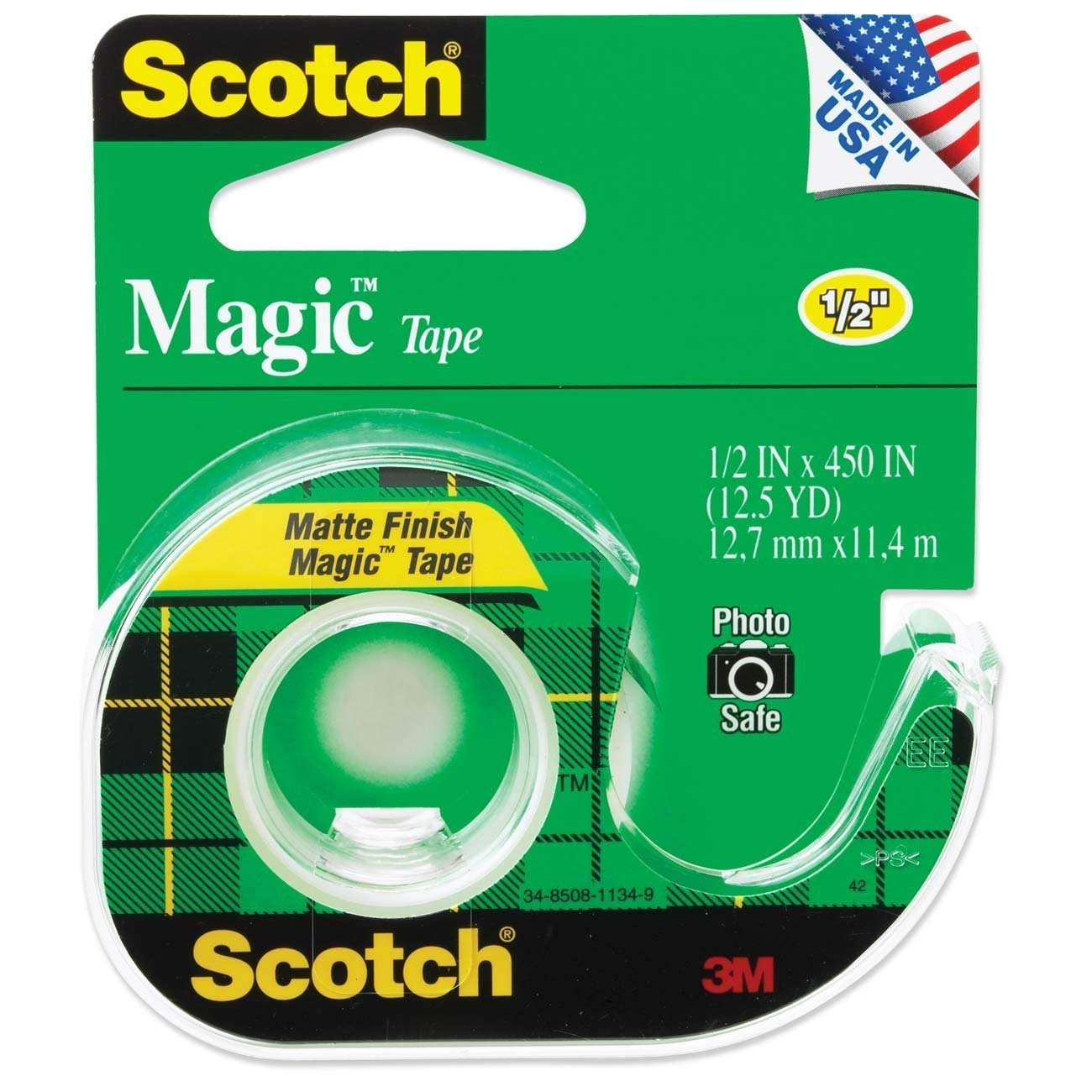 "Scotch Magic Tape 1/2"" x 450"""
