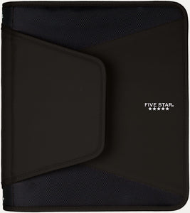 "Five Star 1.5"" Tech Zipper Binder, 500 Sheet Capacity, Assorted Colors (28012)"