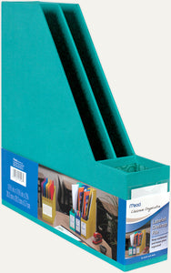 Mead Classroom Organization Labeled Desktop File, Choose Blue, Teal or Green (56026)