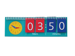 Learning Advantage Student Time Clock Flip Chart (7548)