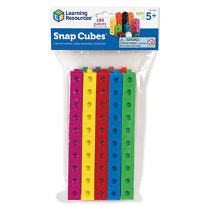 Learning Resources Snap Cubes, Set of 100 (LER7584)