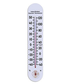 "Learning Advantage 15"" Indoor/Outdoor Classroom Thermometer (7635)"