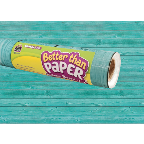 Teacher Created Shabby Chic Wood Better Than Paper Bulletin Board Roll (TCR77041)