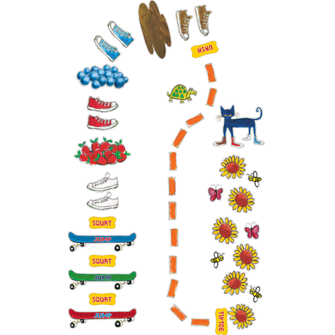 Edupress Pete the Cat My Groovy Shoes Sensory Path (EP 77542)