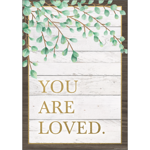 "Teacher Created Resources You Are Loved Positive Poster 13"" x 17""  (TCR7976)"