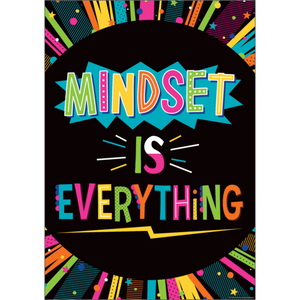 Teacher Created Resources Mindset Is Everything Positive Poster (7989)