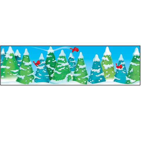 Trend Enterprises Inc. Winter Wonder Bolder Borders, 35' (T85122)