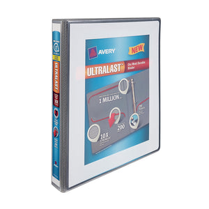 "Avery Ultralast 1 "" Durable Binder, White"