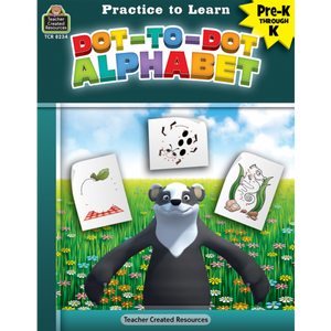 Teacher Created Resources Practice to Learn: Dot-to-Dot Alphabet (TCR8234)