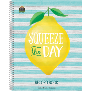Teacher Created Resources Lemon Zest Record Book (TCR8272)