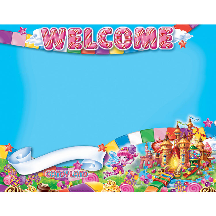 "Candy Land™ Welcome Poster, 17"" x 22"" (EU837035)"