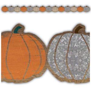 Teacher Created Resources Home Sweet Classroom Pumpkin Die Cut Border Trim (8454)