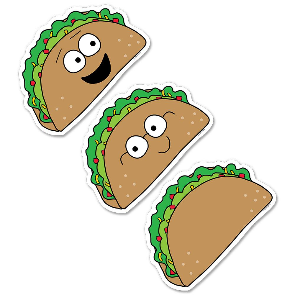 "Creative Teaching Press So Much Pun! Let's Taco 'bout… 6"" Designer Cut-Outs (8455)"