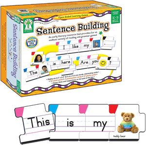 Key Education Sentence Building Learning Game, Grades K-2 (KE-846026)