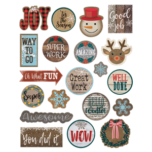 Teacher Created Resources Home Sweet Classroom Winter Stickers (8461)