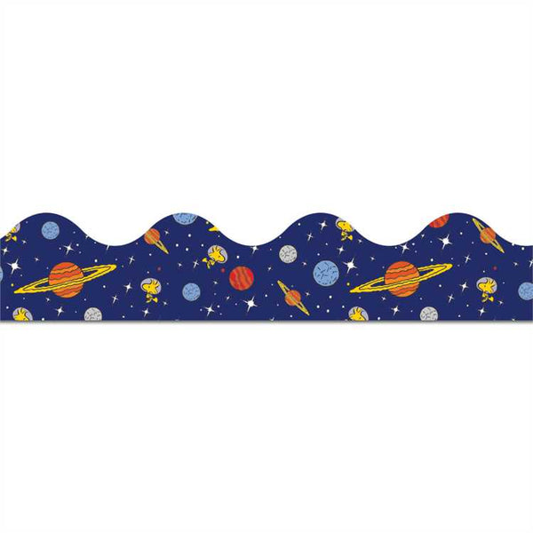 Eureka Peanuts® NASA Extra Wide Solar System Die Cut Deco Trim Border (846301)