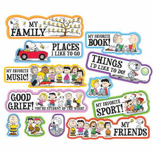 Peanuts® Star of the Week Mini Bulletin Board Set (847064)
