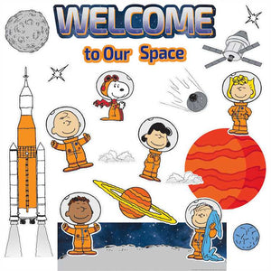 Eureka Peanuts® NASA Welcome to Our Space Mini Bulletin Board Set (847161)