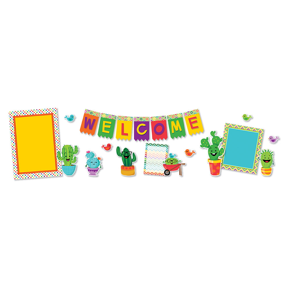 Eureka A Sharp Bunch WELCOME Bulletin Board Set (EU-847544)